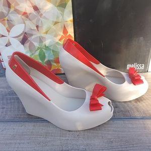 Melissa Queen wedge shoes